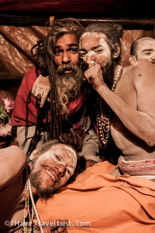 Sadhus of india